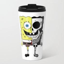 Skull Spongebob Travel Mug