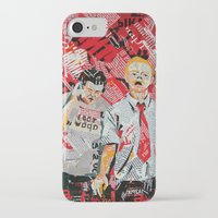 shaun of the dead iPhone & iPod Cases featuring Shaun of the dead by Lanka69
