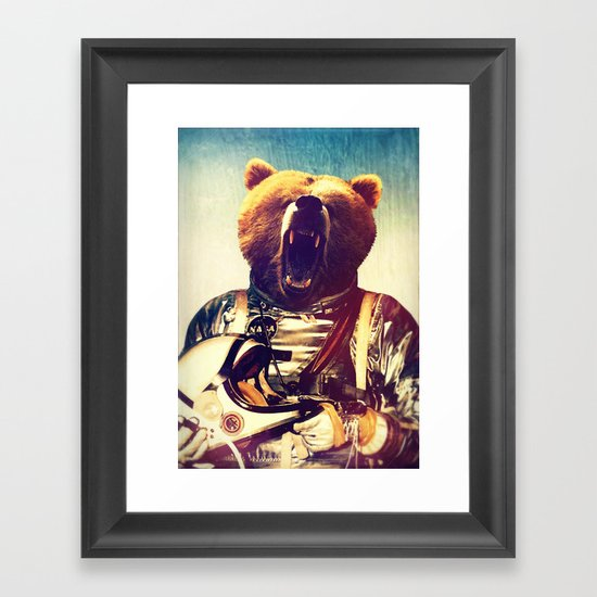 Doing The Other Thing Framed Art Print
