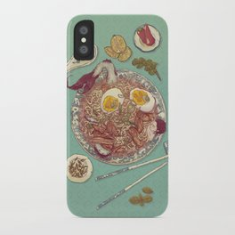 Phở Lady iPhone Case