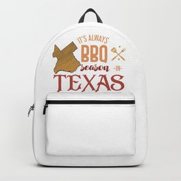 BBQ Season In Texas Backpack