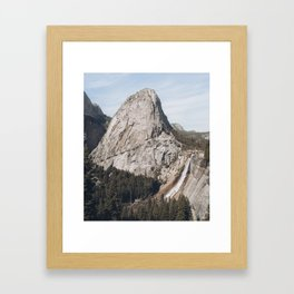 Nevada Falls in Yosemite Framed Art Print