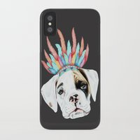 puppy iPhone & iPod Cases featuring Puppy by 13 Styx
