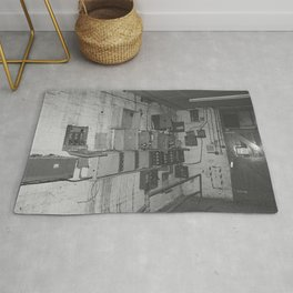 Decay - boxes Rug