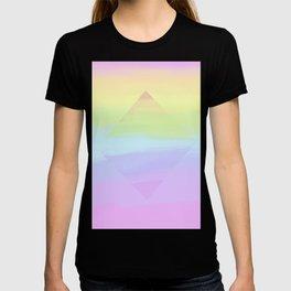 Rainbow. Soft rainbow pearl prism. T-shirt