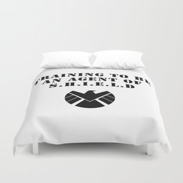 S.H.I.E.L.D Training Duvet Cover