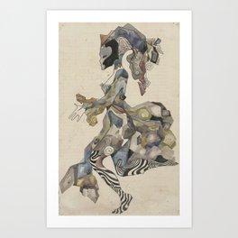 Columbine Art Print