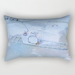 Carrara marble quarry in Italy Rectangular Pillow