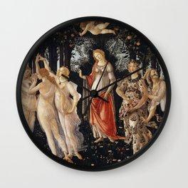 Sandro Botticelli - Spring (La Primavera) Wall Clock