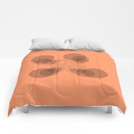 Four Peach Clan Warriors Comforters