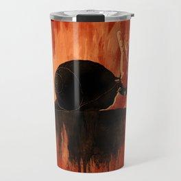 Rock Hard Snail Travel Mug