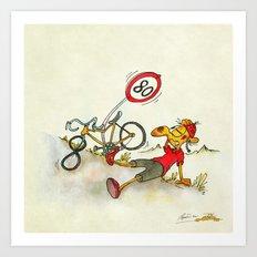 80!!! Art Print