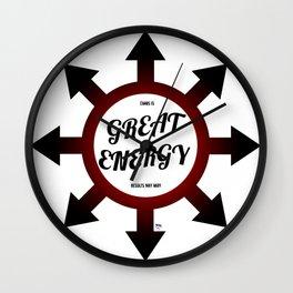 Great Energy Wall Clock