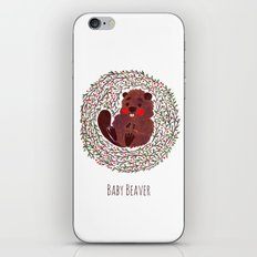 Baby Beaver iPhone & iPod Skin