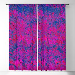 violet and blue trenches Blackout Curtain