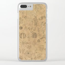 50 Endangered Plant Species Clear iPhone Case