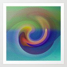 Ocean Wave Number Three Art Print