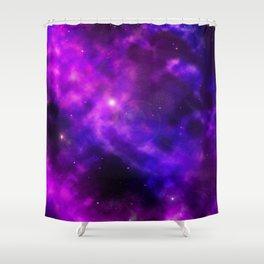 Galaxy Nebula Space Sky Shower Curtain