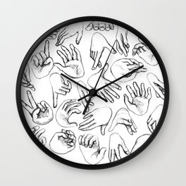 The SENSUALIST Collection (Tact) Wall Clock