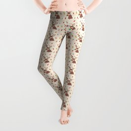 Cute Bunny and Carrots Leggings