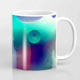 Vibrant Symmetry Oil Droplets Coffee Mug