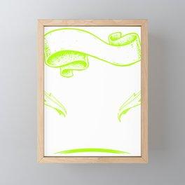 Meninism The Opposite of feminists Framed Mini Art Print