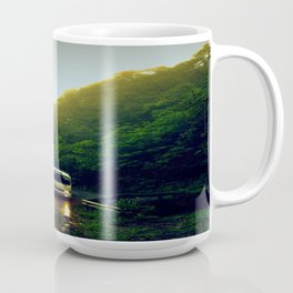Mountain Bus Coffee Mug