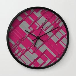 3D Futuristic BG Wall Clock