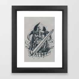 Raider (Viking) Framed Art Print