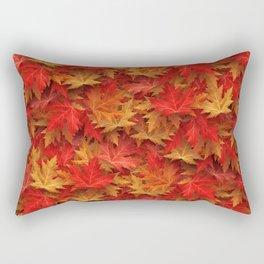Autumn Case Fall Leaves Rectangular Pillow