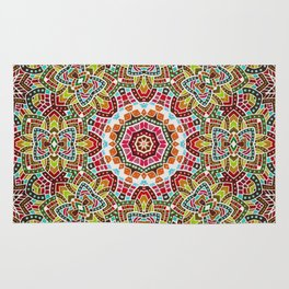 Persian kaleidoscopic Mosaic G508 Rug