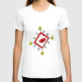 funny lozenge T-shirt