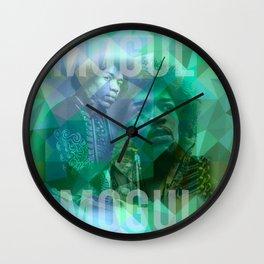 Hendrix Live Wall Clock