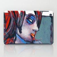 valentina iPad Cases featuring valentina by joseph arruda (zeruch)