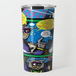 Bird of Steel Comix – 6 of 8 (Society 6 POP-ART COLLECTION SERIES)   Travel Mug