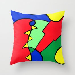 Print #14 Throw Pillow