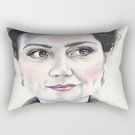 Clara Oswald Rectangular Pillow