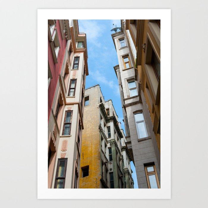 Colors of Istanbul Art Print