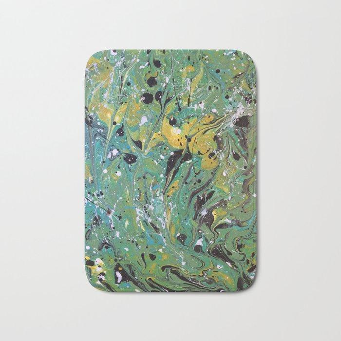 Original, Acrylic Painting, Poured Painting, Abstract, Acrylic Flow, Art  Resin, Art Epoxy, Fluid Bath Mat by olga367art