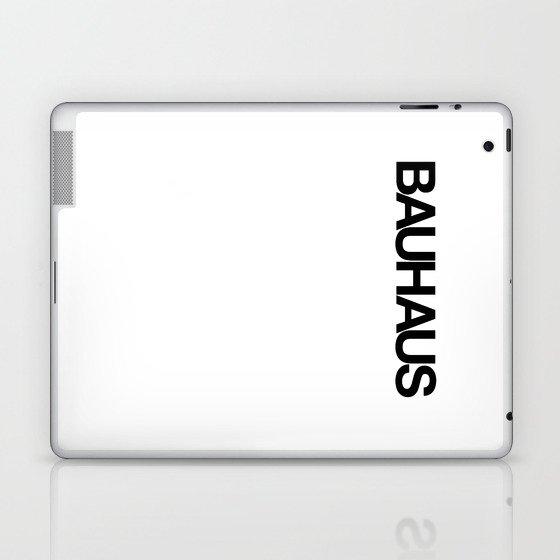 BAUHAUS AND THE WHITE Laptop & iPad Skin