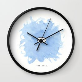 Stay calm Wall Clock