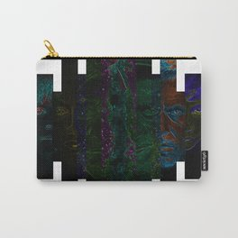 Faces of Outer Space Carry-All Pouch