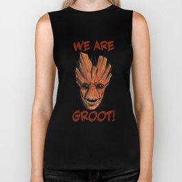 We Are Groot! Biker Tank