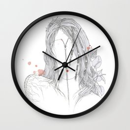 If there was at least a drop of empathy in your coctail Wall Clock