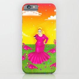 1997 Neon Rainbow Trash Queen iPhone Case