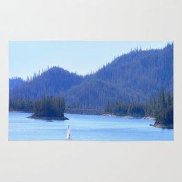 Sailing away at Whiskeytown Lake.... Rug