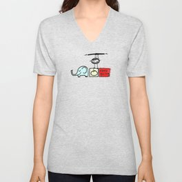 keep going Unisex V-Neck