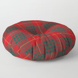CAMERON CLAN SCOTTISH KILT TARTAN DESIGN Floor Pillow
