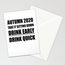Autumn 2020 Take It Sitting Down Stationery Cards