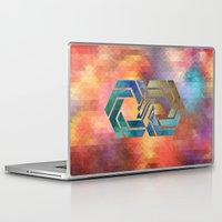 bioshock infinite Laptop & iPad Skins featuring Infinite by Blank & Vøid